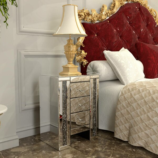 Whitford 3 Drawer Nightstand by Rosdorf Park