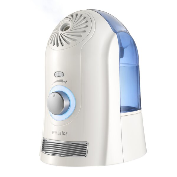 2 Gal. Cool Mist Ultrasonic Tabletop Humidifier by Homedics