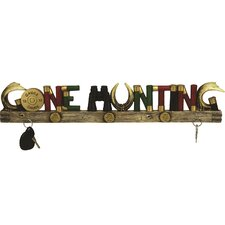 Gone Hunting Key Holder by River's Edge Products
