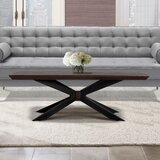 Doyle Pedestal Coffee Table by Foundry Select