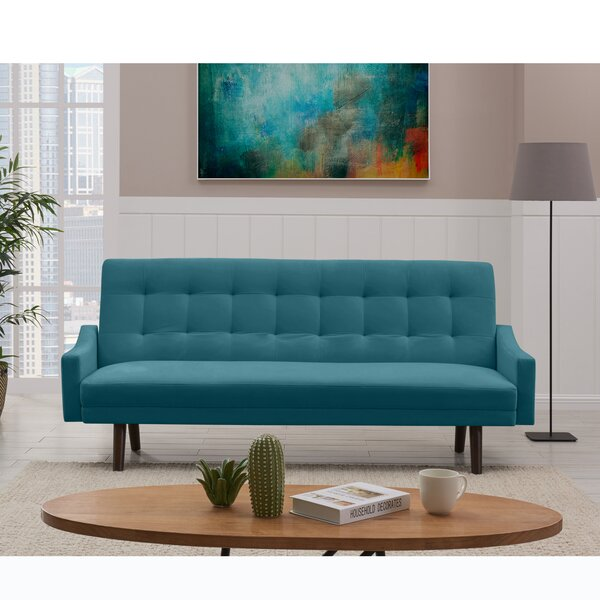 #2 Westbrooks Convertible Sofa Bed By George Oliver Great price