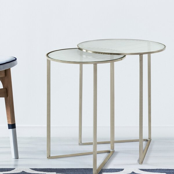Americus 2 Piece Nesting Tables (Set of 2) by Orren Ellis