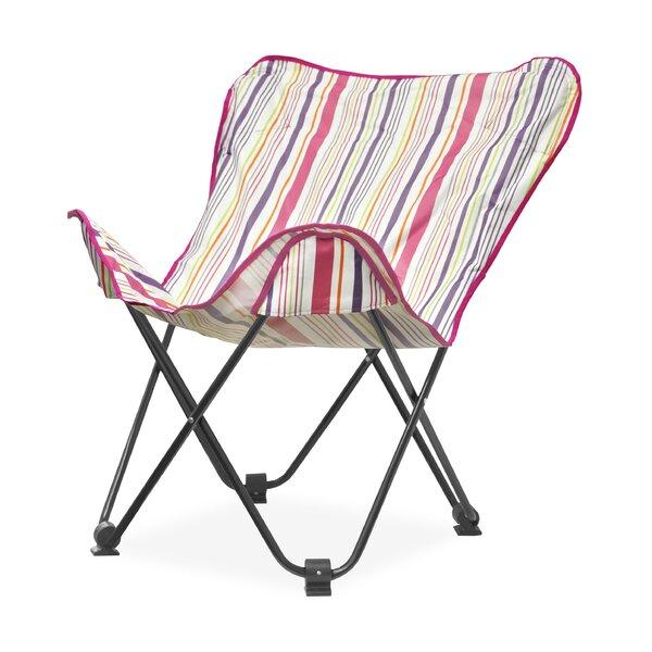 Urban Shop Surfer Stripe Butterfly Lounge Chair by Idea Nuova