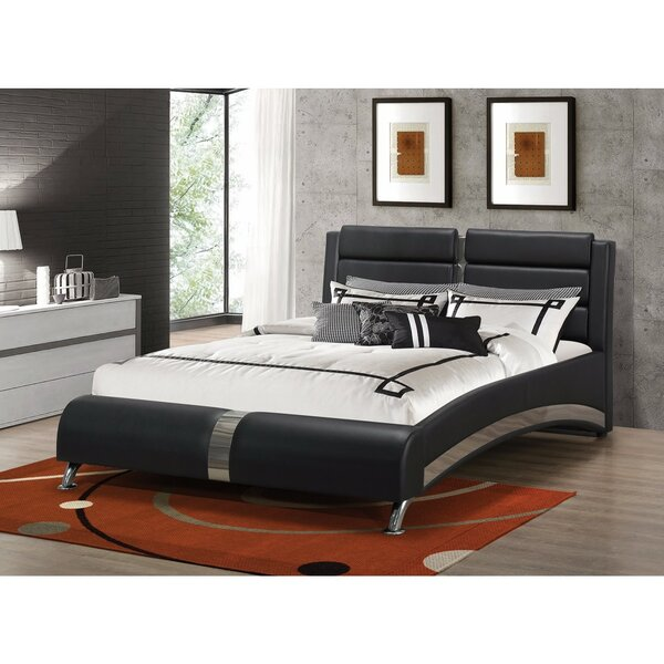 Henrie Queen Upholstered Sleigh Bed by Orren Ellis