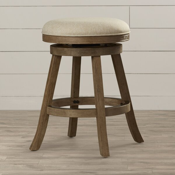 Deaux 24 Swivel Bar Stool by Lark Manor