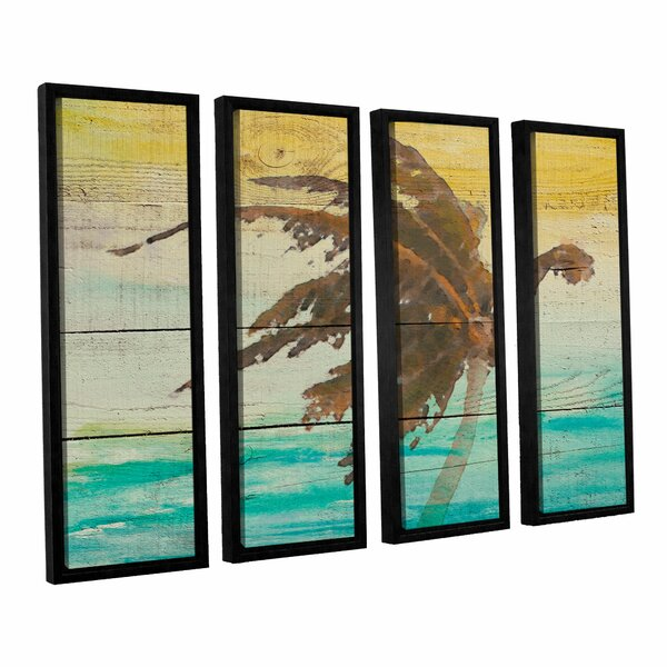 Into The Light II 4 Piece Framed Painting Set by Bay Isle Home