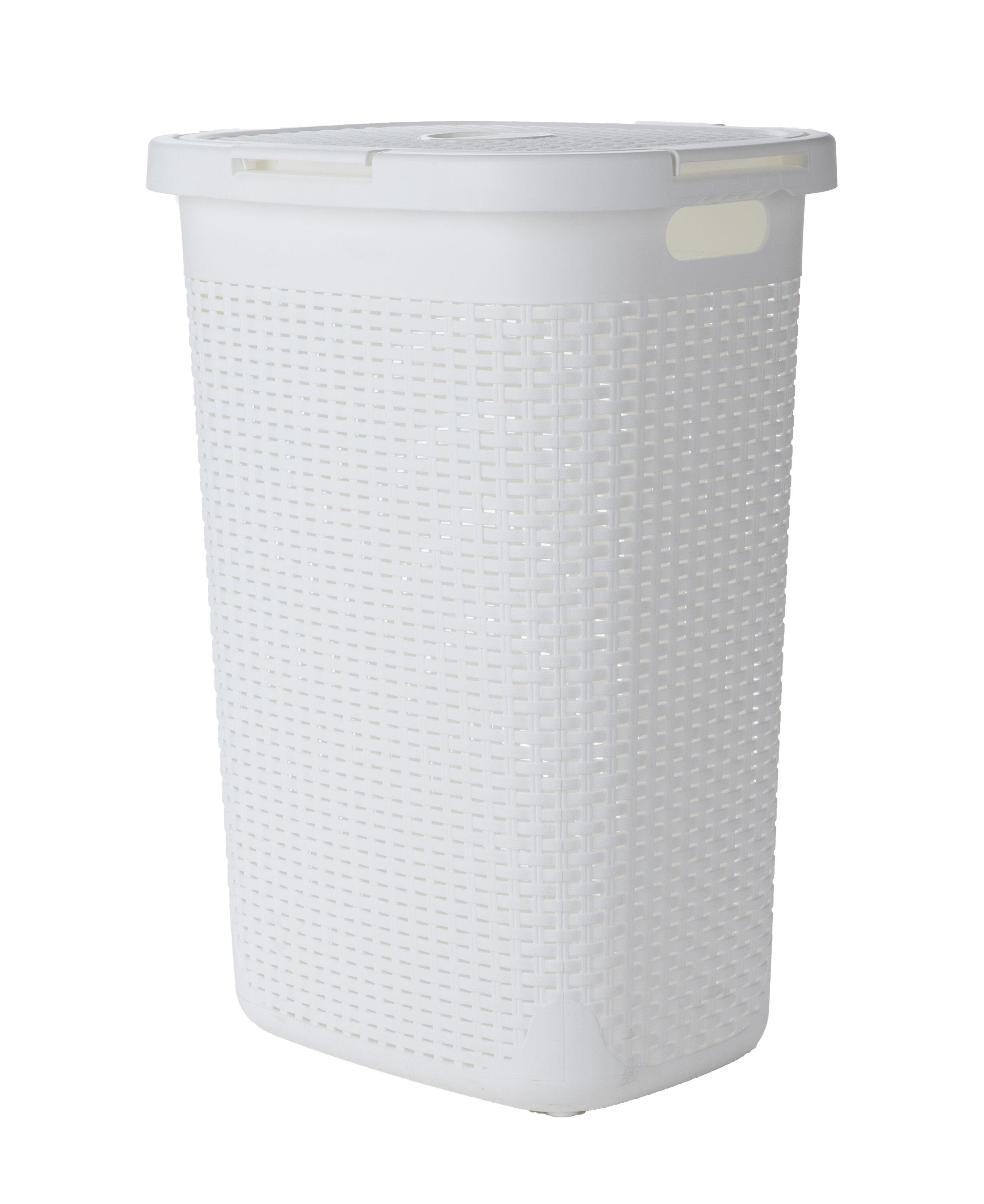 Mind Reader Wicker Laundry Basket Reviews Wayfair