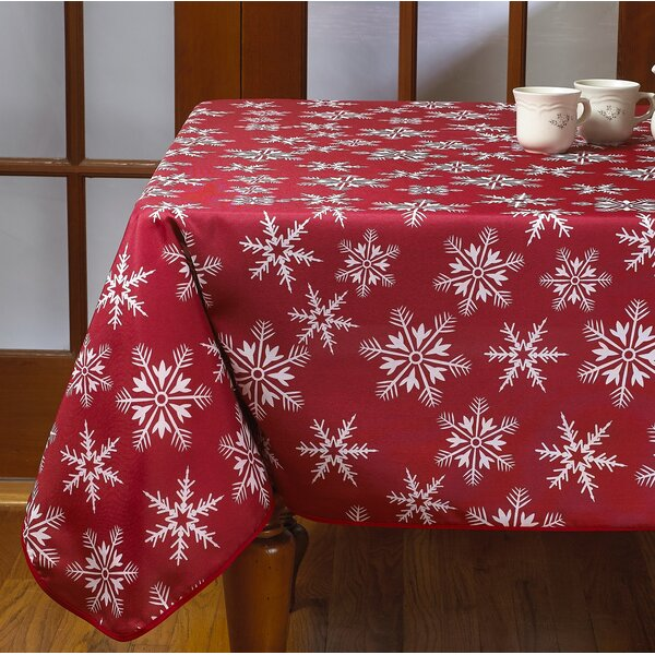 Decorative Christmas Tablecloth by The Holiday Ais