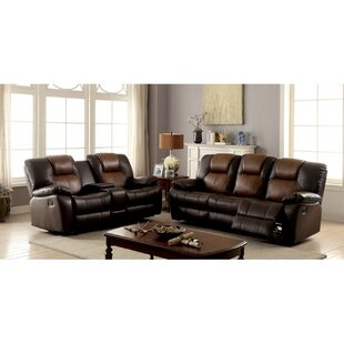 Gregale 2 Piece Reclining Living Room Set by Red Barrel Studio®