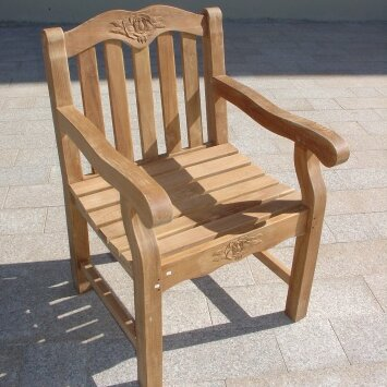 Guillory Patio Dining Chair by Highland Dunes