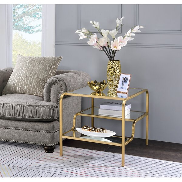 Gauvin End Table by Everly Quinn