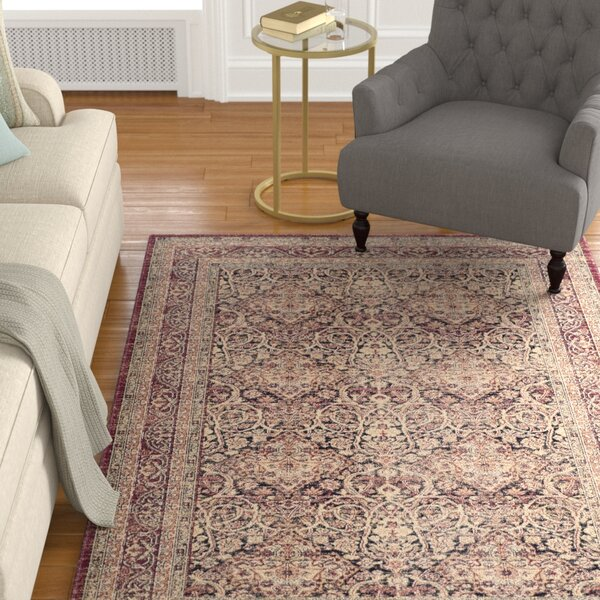 Marion Brown Area Rug by Darby Home Co