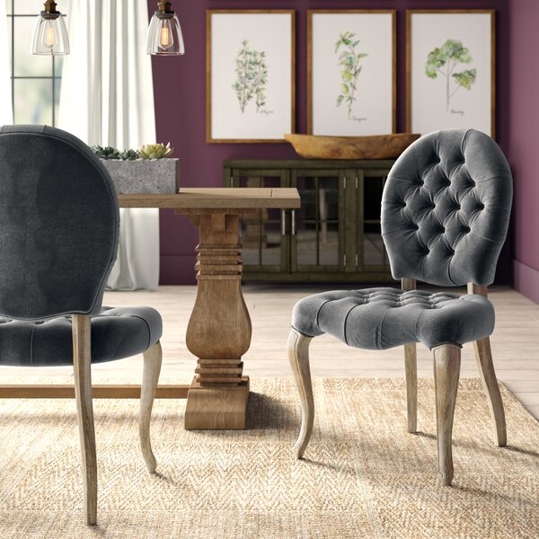 Hearne Upholstered Side Chair (Set of 2) by Greyleigh