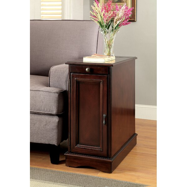 Woodrow End Table with Storage by Alcott Hill