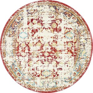 Danbury Red Area Rug