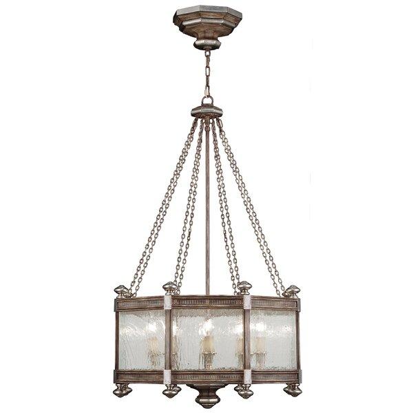 Villa Vista 8 - Light Unique / Statement Drum Chandelier By Fine Art Lamps