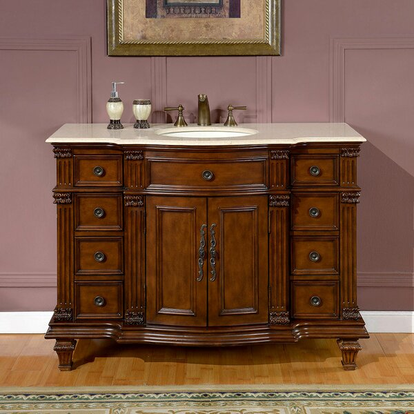 Brennen 48 Single Bathroom Vanity Set by Fleur De Lis Living