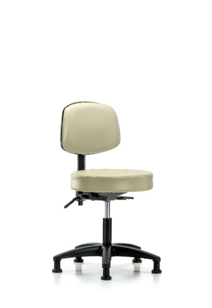 Journey Desk Height Adjustable Lab Stool by Symple Stuff