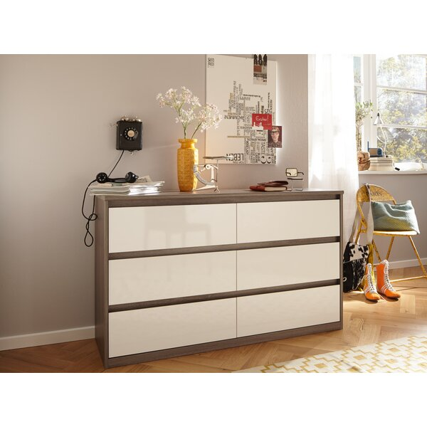 Walraven 6 Drawer Dresser by Latitude Run