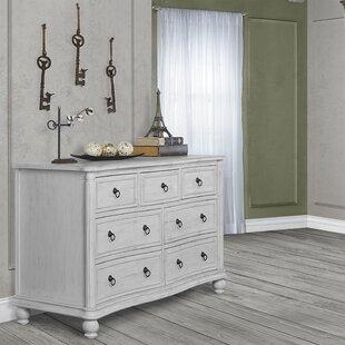 Kendal 7 Drawer Double Dresser by Evolur