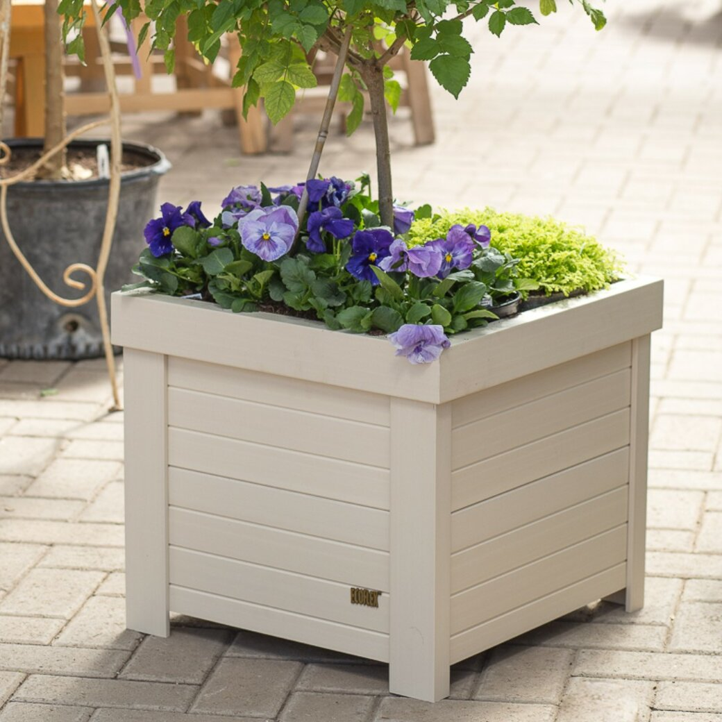 New Age Garden Ecoflex Composite Planter Box Wayfair
