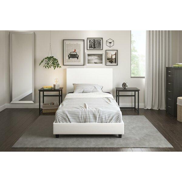 Anciaux Upholstered Platform Bed by Ebern Designs
