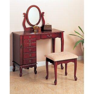 Winlock Vanity Set with Mirror by Wildon Home®