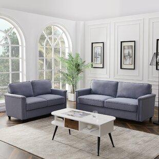 Garwood 2 Piece Standard Living Room Set by Andover Mills™