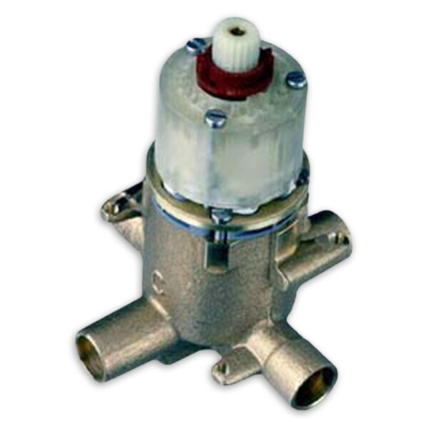 Pressure Balanced Rough Valve Body with 0.5 Pex Inlets and Direct Sweat Outlets by American Standard