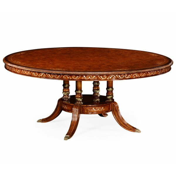 Duchess Mother of Pearl Solid Wood Dining Table by Jonathan Charles Fine Furniture