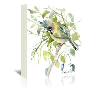 Yuhina  Painting Print on Wrapped Canvas by East Urban Home