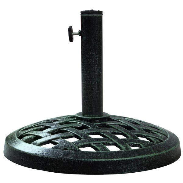 Justin Cast Iron Umbrella Base by Winston Porter
