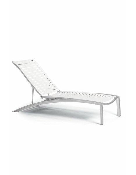 South Beach EZ Span Ribbon Segment Chaise Lounge by Tropitone