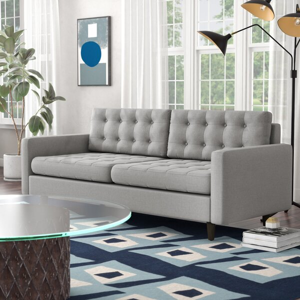 Cute Style Warren Sofa by Langley Street by Langley Street