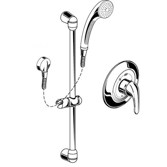 FloWise Commercial Shower Faucet by American Standard