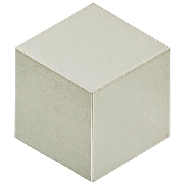 Concrete 8.88 x 10.13 Porcelain Field Tile in Light Gray by EliteTile