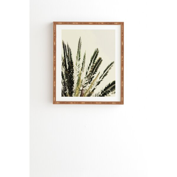 The Palms No 2 Framed Photographic Print by East Urban Home