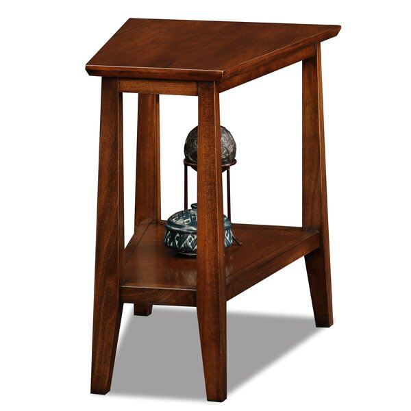 Hazleton Solid Wood End Table By Alcott Hill
