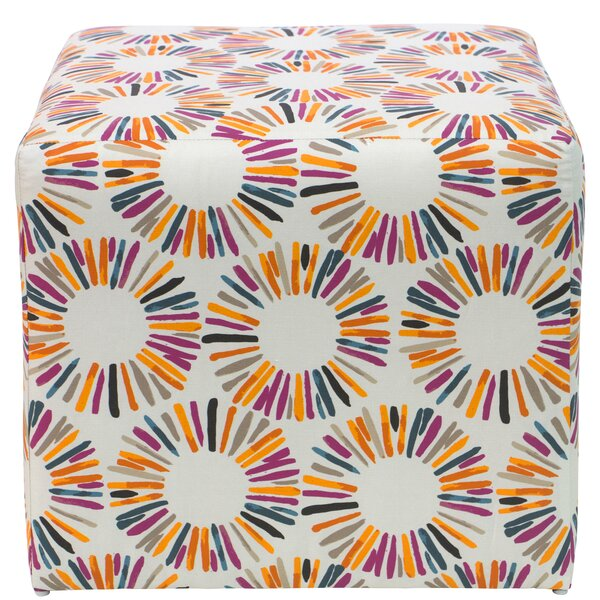 Higginson Cube Ottoman by Brayden Studio