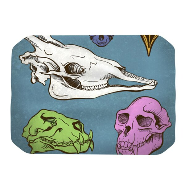 Skulls Placemat by KESS InHouse