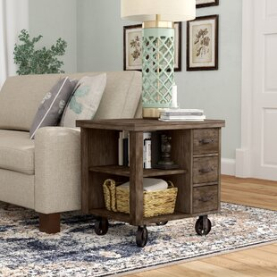 Compare prices Remy End Table With Storage By Laurel Foundry Modern Farmhouse