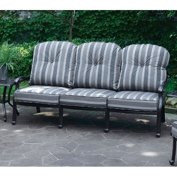 Montpelier Sofa with Cushions by Bay Isle Home