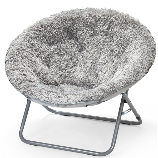 Ackerly Faux Fur Papasan Chair by Three Posts Teen Three Posts Teen