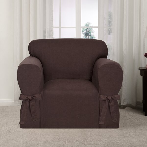 Box Cushion Armchair Slipcover By Ophelia & Co.