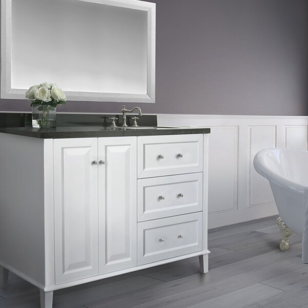 Fugate 48 Single Bath Vanity Set with Mirror by House of Hampton