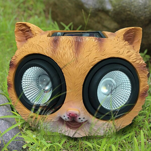 Cat Solar Color Changing Spot Light by Myfuncorp