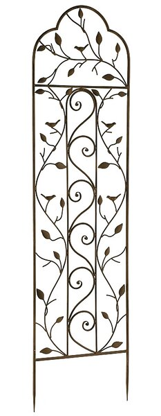 Nature Metal Arched Trellis by World Source Partners