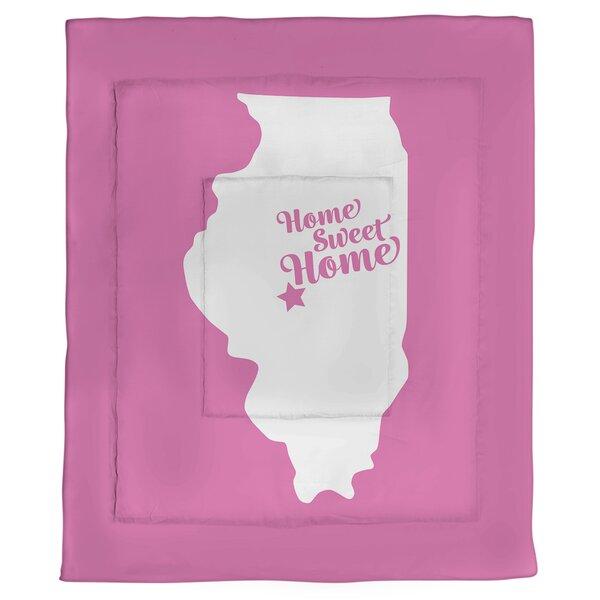 Springfield Home Sweet Single Reversible Comforter