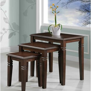 Price Check Mario Furniture 3 Piece Nesting Tables By Alcott Hill