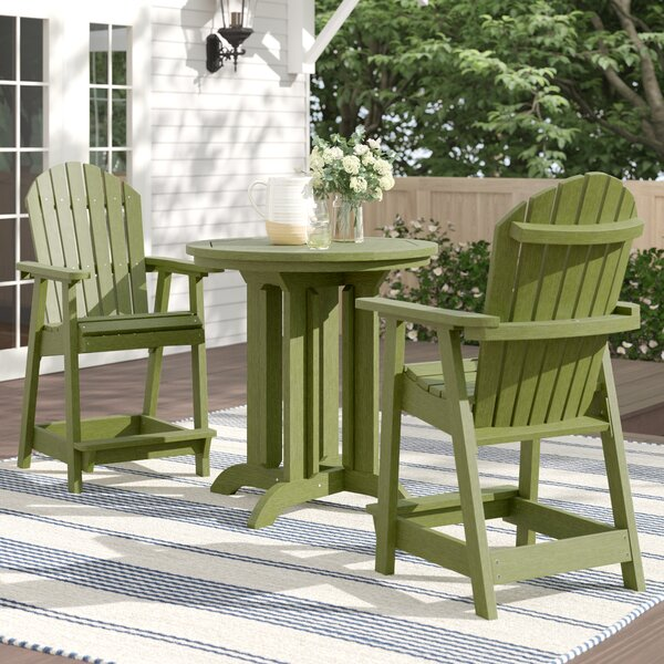 Anette 3 Piece Dining Set by Sol 72 Outdoor